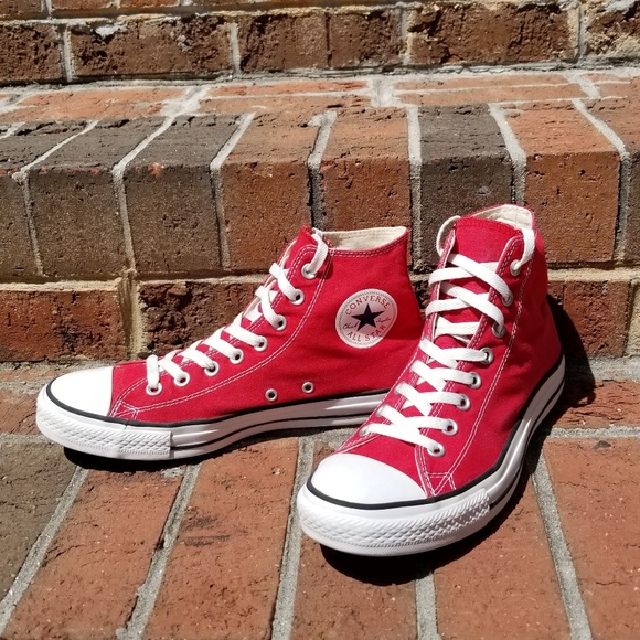 a33890a1420a Converse Other - Converse All Star red high top sneakers